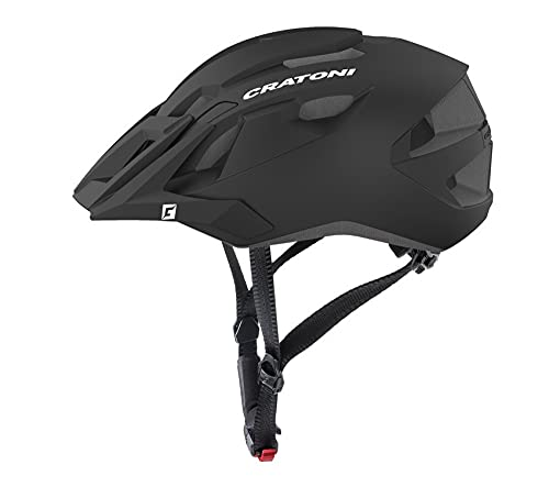 Wetterladen Cratoni Allride - Casco da ciclismo con luce posteriore, taglia L/X, colore: Nero
