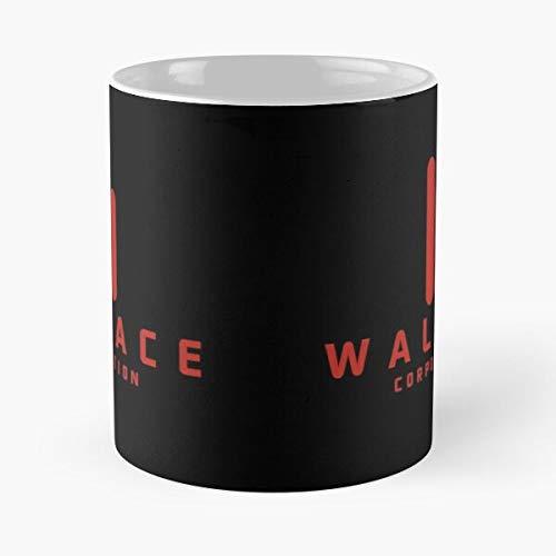 Desconocido Fi Cult Cool Runner Movie Retro Sci Cinema Blade Science Taza de café con Leche 11 oz