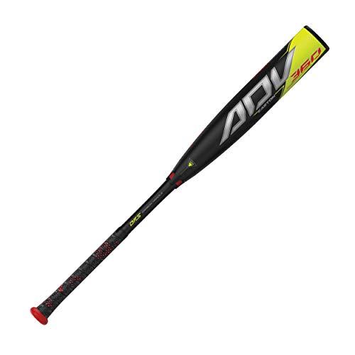 EASTON ADV 360 -11 l -10 l -8 l -5 USA Youth Teen Baseball Bat, 2021, 2 5/8 in Barrel, 2 Piece Composite, iSO ConneXion, Launch Comp 360 Barrel Profile, DFS Carbon Handle, Power Boost, Speed Cap