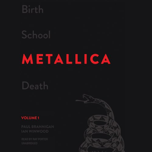 Page de couverture de Birth School Metallica Death, Volume 1