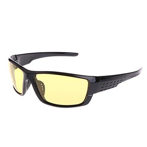 GASSDINER Gafas Pesca Ciclismo Gafas de Sol polarizadas al Aire Libre Gafas Deportivas UV400 para Hombres