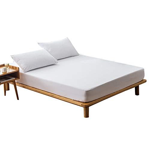 Gesh 140 x 200 colchón, 100% impermeable, protector de colchón a prueba de insectos de polvo y ácaros