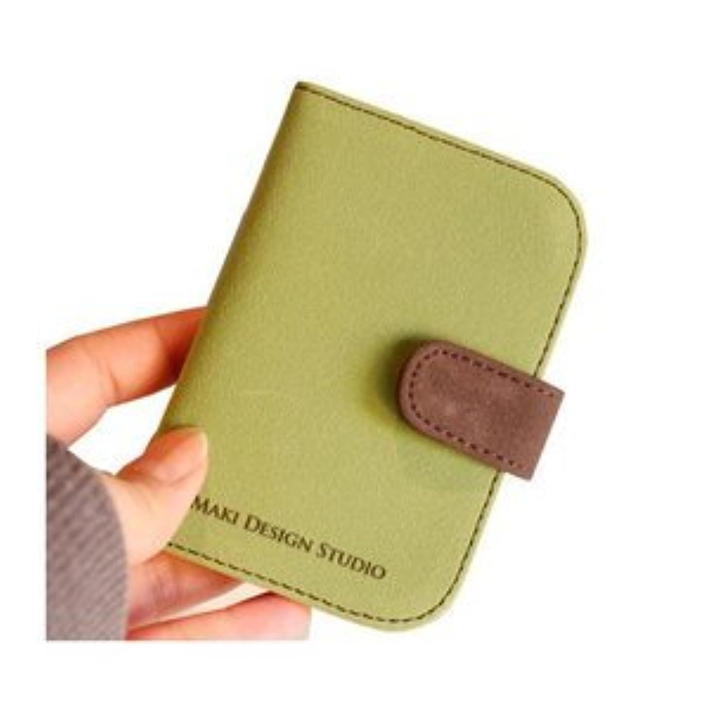 スラッシュそれらボスMIカードポケット/グリーン