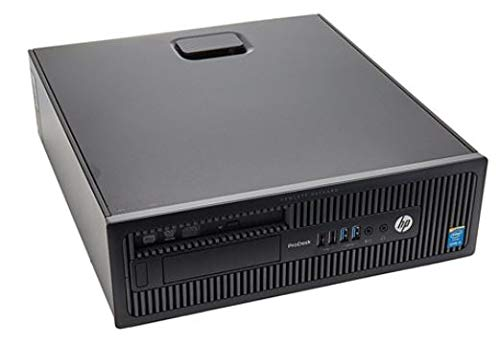 PC HP ProDesk 600 G1 Core i3 4° Gen 8 GB 500 GB Windows 10 Professional con Licencia Nueva Simpaticotech MAR Microsoft Authorized Refurbisher (Reacondicionado)