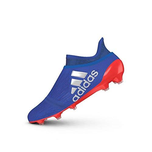 adidas X 16+ Purechaos FG Botas de fútbol para hombre, color rojo, color multicolor, tamaño 462/3