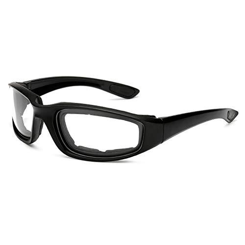 Gafas de motocicleta a prueba de viento de los hombres de la vendimia retro UV moto motor gafas al aire libre esquí