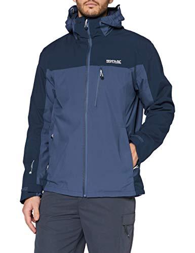 Regatta Herren Wentwood V Waterproof Breathable Taped Seams Multiple Pockets Hooded 3-in-1 Jacket Jacke, Mehrfarbig, XL