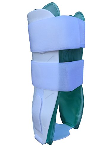 Alpha Medical Air Gel Cast Stirrup Ankle Brace, One Size fits All Fits Left or Right Foot