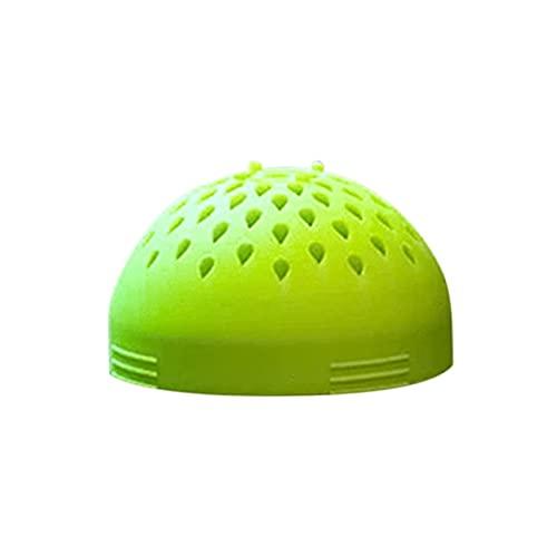 Mini colador de múltiples usos para cocinar sin problemas rápida La micro cocina Colander Silicone Filtro Lavavajillas Gadgets Gadgets Green Straders and Colanders Sieve Malla Fina (Color : Green)