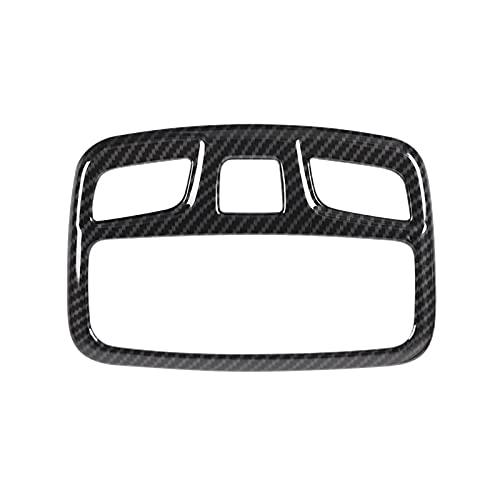YFQH Molduras Interiores Ajuste para Suzuki Jimny Coche lámpara de Techo Marcos de Ajuste de Lectura Light Decoration Count Fit para Suzuki Jimny 2019+ (Color Name : Carbon Fiber Grain)