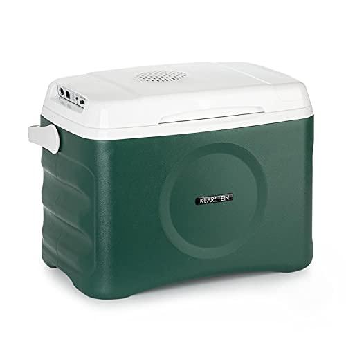 Klarstein BeerBelly 21 Kühlbox Elektrisch - 21 L, 3 Anschlüsse: 230V, 12V Anschluss für Zigarettenanzünder&USB, auto Kühlbox, Kühl- und Warmhaltefunktion, Auto, LKW, Camping, Steckdose, blau