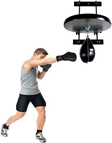 GYPPG Kit de Plataforma de Bolsa de Velocidad Ajustable MMA Heavy Duty y Saco de Boxeo Speed Ball Soporte de Boxeo