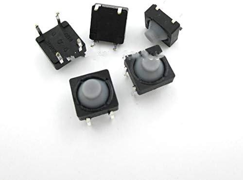 Trust JSJJAUA Micro Switch 20PCS LOT Silicon 8x8x5MM Conductive 4 Denver Mall Pins