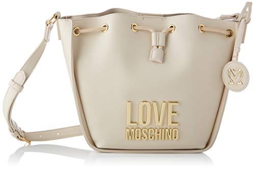Love Moschino Precolección Ss21 | Bolso tipo cubo de poliuretano para mujer,...