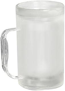 リマーク(Remark) ビールグラス 〔アイスビアジョッキ〕 400ml (冷凍冷却2重構造)