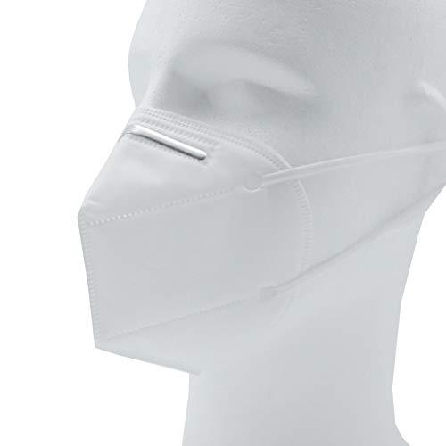 KN95 Maske für Frauen und Jugendliche mit schmaler Passform (CE 2534) 4-lagige Atemschutzmaske - 10 Stück pro Packung