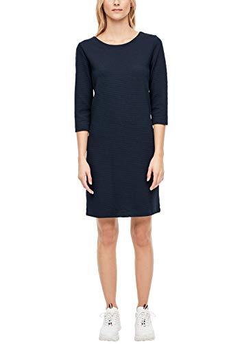 s.Oliver Damen 21.910.82.2672 Kleid, Blau (Navy 5959), (Herstellergröße: 40)