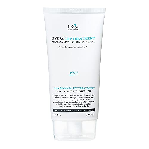 Lador - Hydro LPP Treatment (Tube Type) - Haarkur mit Kollagen - Feuchtigkeitsspendende Haarkur für geschwächtes und strapaziertes Haar - Haarkuren - Haarwasser -...