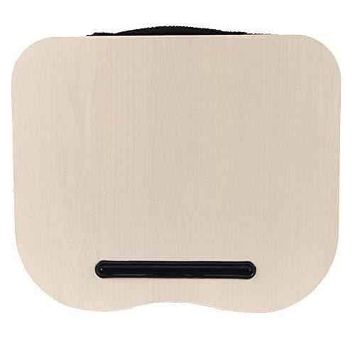 FORYOURS - Cojín para portátil (15,7 x 13 Pulgadas, con Soporte, para Cama y sofá)