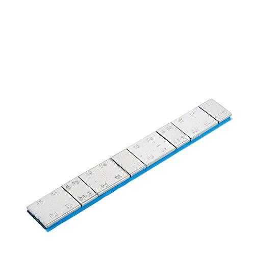 100x Poids autocollants jante en aluminium type 39860 argentés Perfect Equipment, Poids d'équilibrage autocollants, Poids d'équilibrage pour jantes en aluminium
