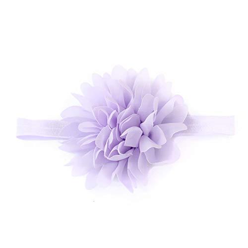 Baby Haar Strikken Hoofdbanden Meisjes Grote Boog Haarbanden voor pasgeboren,Peuter en Kinderen purple-A