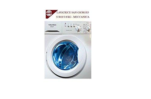 LAVATRICE MECCANICA 8 KG SAN GIORGIO: S 5610 I CLASSE A