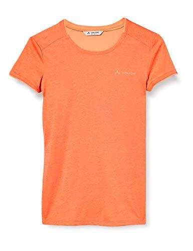 VAUDE T-Shirt Essential pour Femme, Femme, T-Shirt pour Femme, 41329, Pink Canary, Taille 34