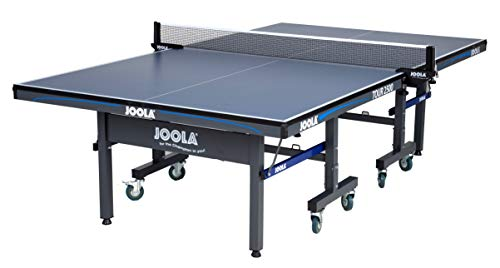 Best Prices! JOOLA Tour - Competition Grade MDF Indoor Table Tennis Table with Quick Clamp Ping Pong...