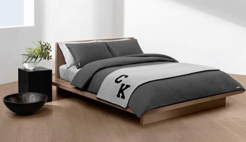 Calvin Klein Body ID Funda de edredón 200x200 cm Carbón