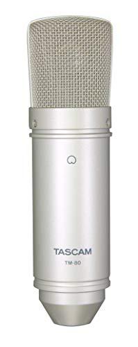 TASCAM TM-80 - Micrófono de condensador para grabación de estudio en casa