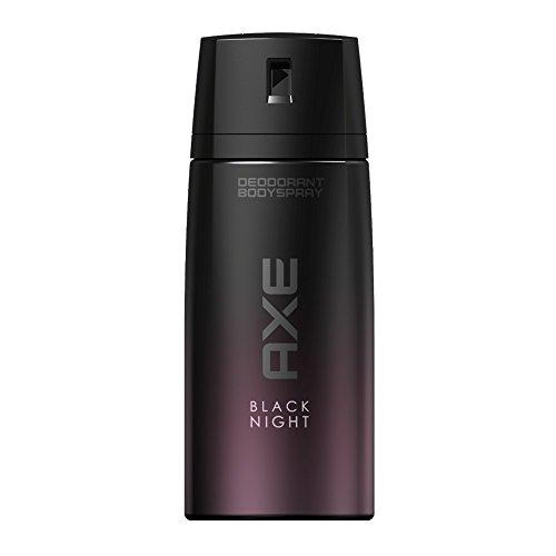 Axe - Desodorante para hombre, spray Black Night de 150ml, lote de 2unidades