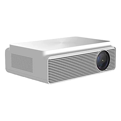 XTZJ Proyector de 1080p, proyector WiFi Bluetooth Soporte de Bluetooth, soporte de video de 300L de película 4K, proyector de vivienda compatible con TV Stick, HDMI, USB, IOS / Android [110''Screen in