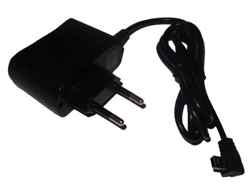 vhbw 220V Netzteil Ladegerät Ladekabel (1A) mit Mini-USB passend für Navigon 6350 7000 7100 7110 2100 max 2110 max 2150 max 330 0max 4310 max 4350