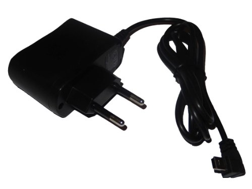 220V Netzteil Ladegerät Ladekabel (1A) mit Mini-USB passend für Navigon max 7210 7310 8110 8310 8410 8410 Premium Edition 8450 Live, 20 Easy 20 Plus