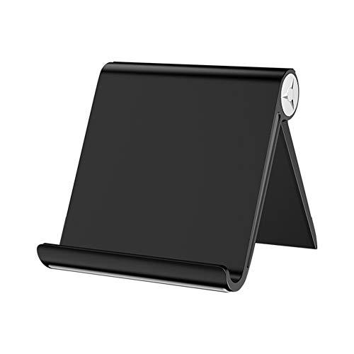 Tixiyu Soporte para tablet móvil, soporte de teléfono ABS ajustable, soporte universal multiángulo, soporte para teléfono de escritorio