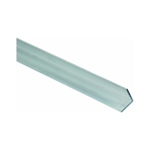5 Leg Lengths Finish ASTM B221 Mill Equal Leg Length 6061 Aluminum I-Beam 8 Width Extruded Temper Squared Corners Unpolished 0.35 Wall Thickness 12 Length