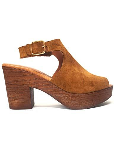 Sandalias para Mujer Kaola 381 Serraje Cuero