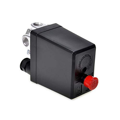 Ersatz-Kompressor für Luftkompressor Monofase Anzeigen Sicherheitsventil On-Off Heavy Duty Druckluft