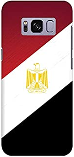 Stylizedd Samsung Galaxy S8 Plus Slim Snap Case Cover Matte Finish - Flag Of Egypt