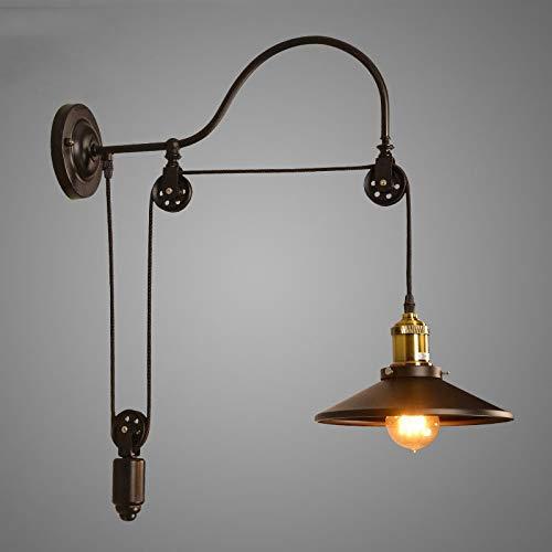 lámpara de pared Lámpara De Pared De Loft Retro Vintage Lámpara De...