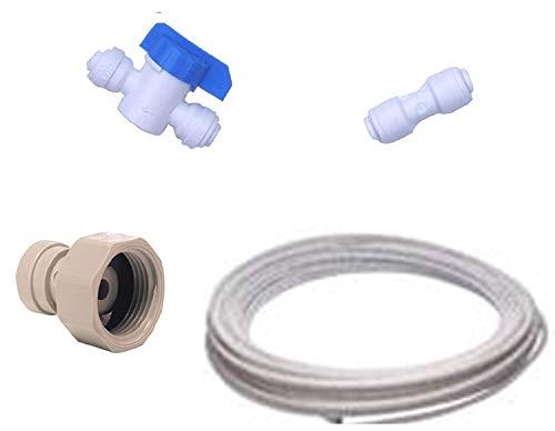 Kit de Raccordement Frigo Américain pour toutes marques de réfrigérateurs américains (raccords + tuyau)