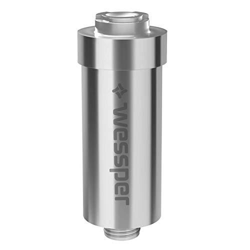 Wessper AWF SWR-Anm P M anticalcare doccia filtro, Argento/metallizzato (Argento)