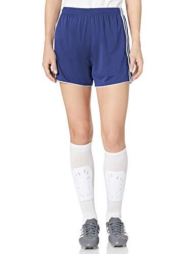 adidas Women's Soccer Tastigo 17 Shorts, Dark Blue/White, Large