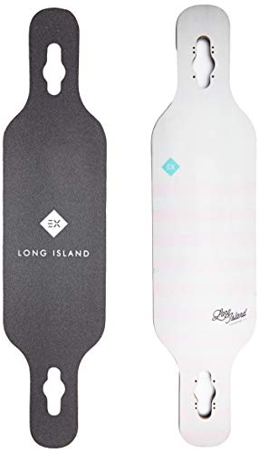 Long Island Geo V2 40'x9.4' Flex1 Fiberflex Deck Skateboard, Adulti Unisex, Multicolore (Multicolore), 40'