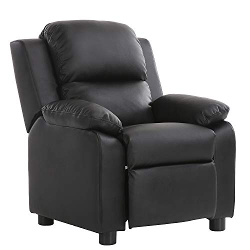 LCH Contemporary PU Leather Kids Recliner