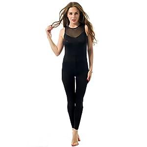 mono chandal mujer Sannysis yoga pantalón mujer runing una pieza ...