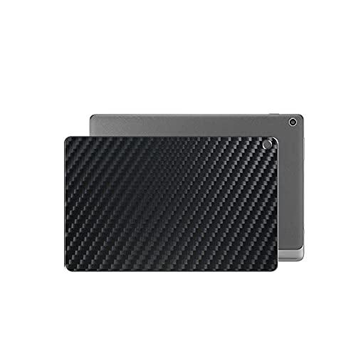 Vaxson 2 Unidades Protector de pantalla Posterior, compatible con ASUS ZenPad 10.0 Z300C / Z300CL / Z300CG / Z300M / Z300CNL, Película Protectora Skin Piel Negro [No Carcasa Case ]