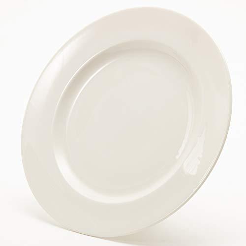 NARUMI(ナルミ) プレート 皿 パティア(PATIA) ホワイト 24cm ミート 電子レンジ・食洗機対応 日本製 41623-5958