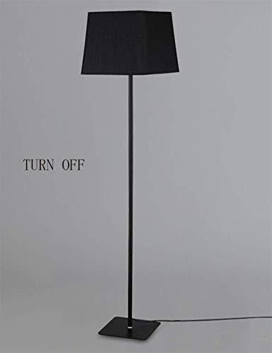 ZUQIEE Lámparas de pie Vertical pie luminarias de Hierro paño de la Cortina Modernos Simplicidad de pie luminarias for Sala de Estar Dormitorio Estudio Creativo Bombilla incluida, 2 (Color : 2)