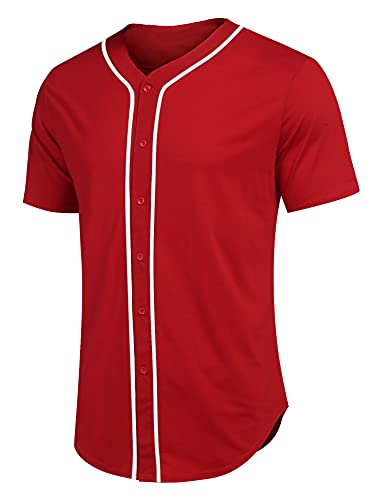 Jersey Mexico Beisbol marca COOFANDY